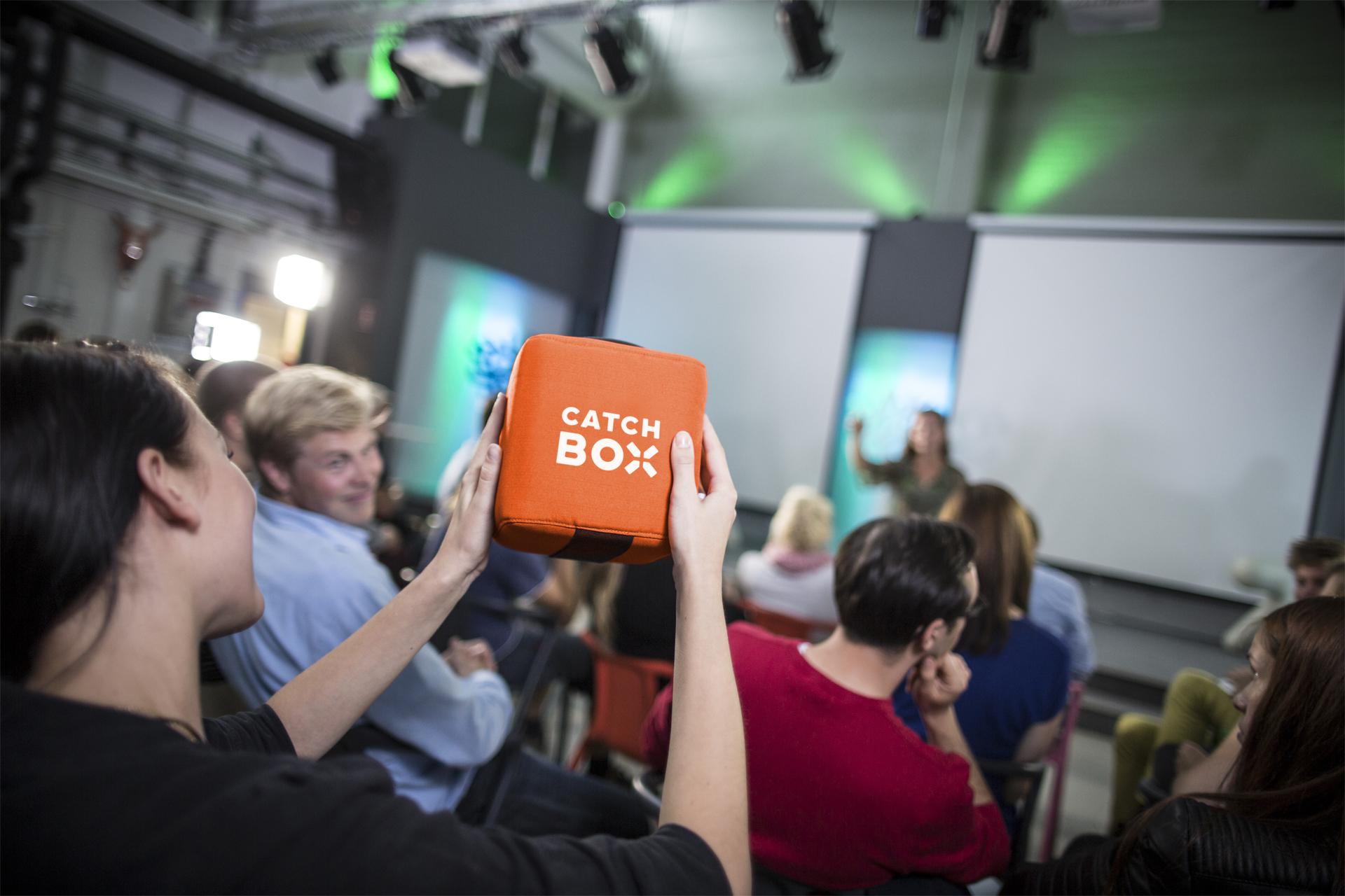 Catchbox: Konferenztechnik zum Mieten