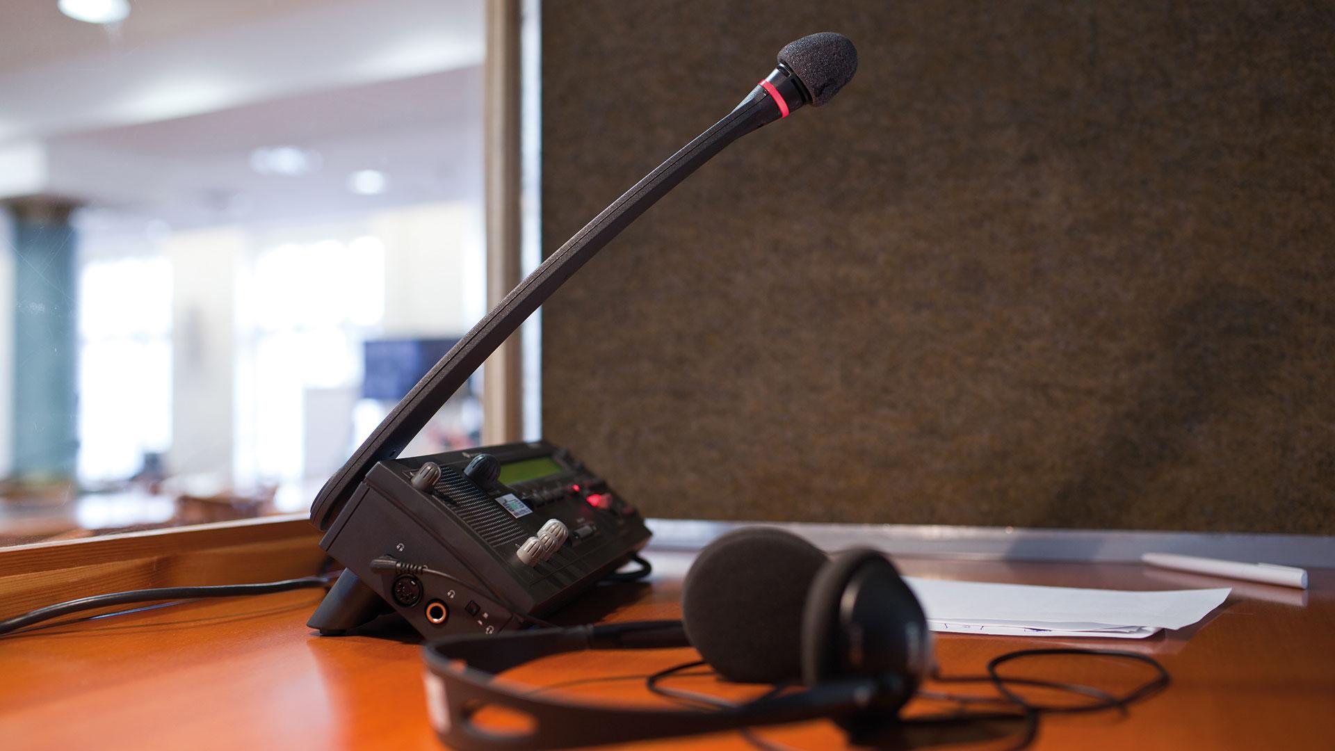 Mikrofonie / Konferenzmikrofone