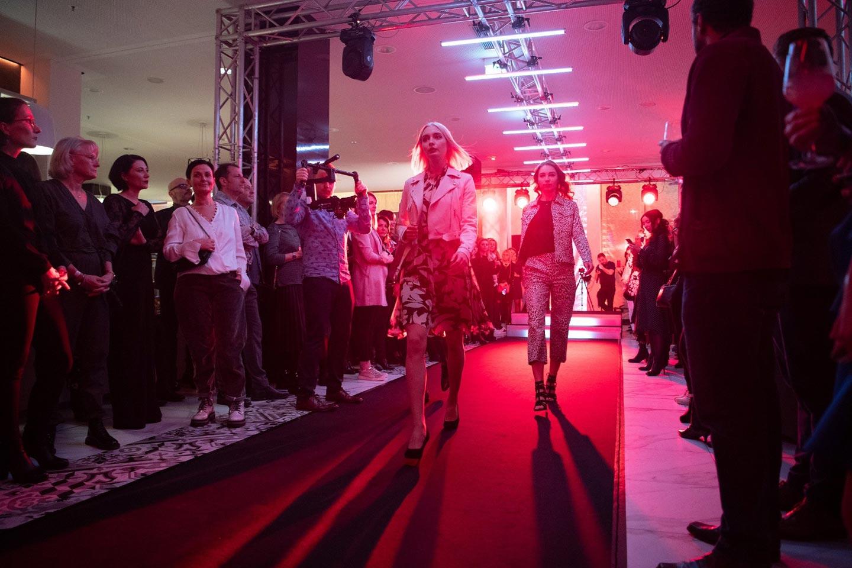 Lichttechnik von Xscreen bei Fashion Show