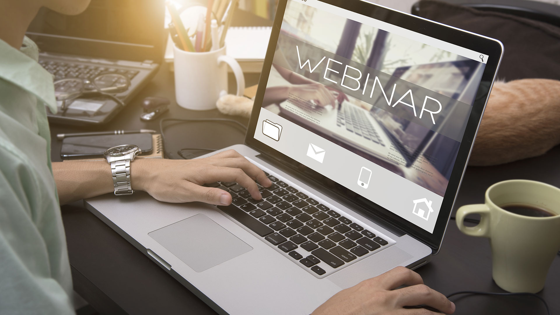 Virtuelle Veranstaltung: Webinar, Konferenz oder Hybrid Event