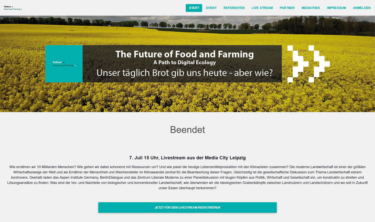 Xcom.live The Futur of Food and Farming