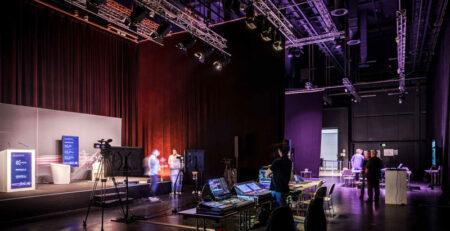 Live Streaming Studio Bühne