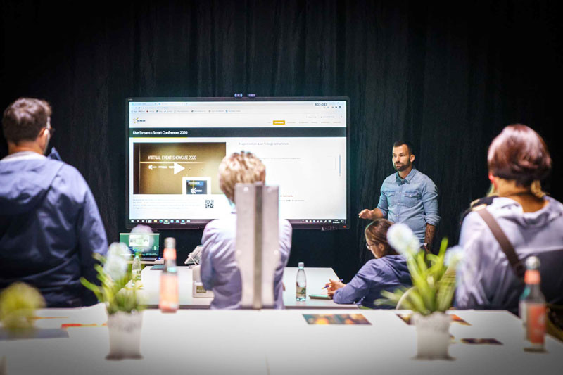 Live Streaming Studio Präsentation