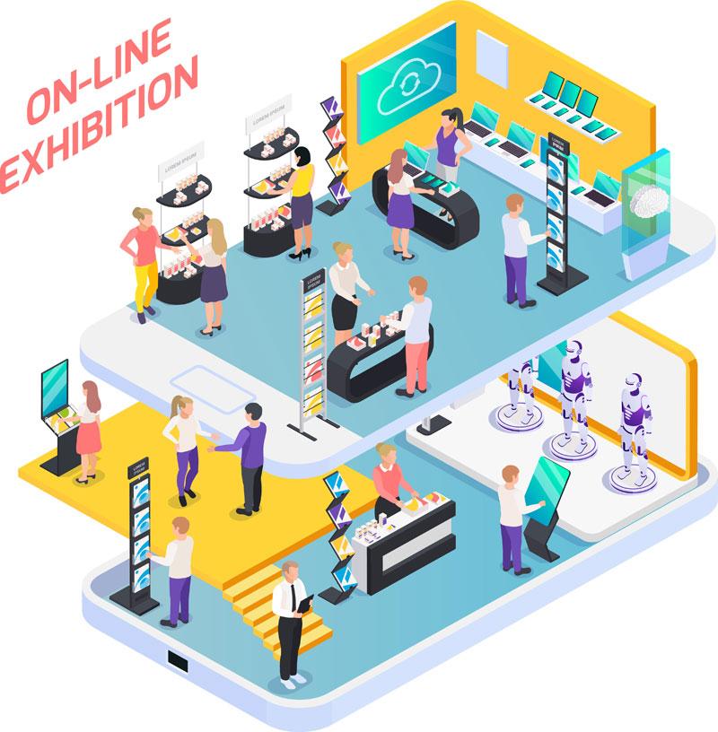 Virtuelle Messen Technik
